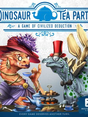 Buy Dinosaur Tea Party only at Bored Game Company.