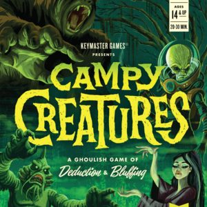 Buy Campy Creatures only at Bored Game Company.