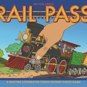 Buy Rail Pass only at Bored Game Company.