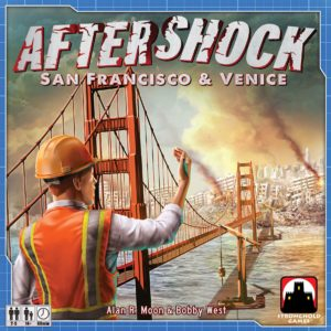 Buy Aftershock: San Francisco & Venice only at Bored Game Company.