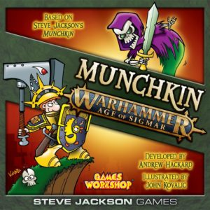 Buy Munchkin Warhammer: Age of Sigmar only at Bored Game Company.