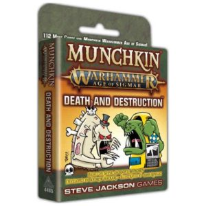 Buy Munchkin Warhammer: Age of Sigmar – Death and Destruction only at Bored Game Company.