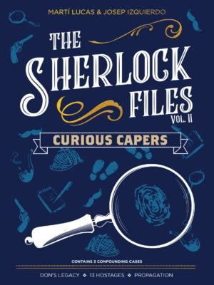 Buy The Sherlock Files: Curious Capers only at Bored Game Company.