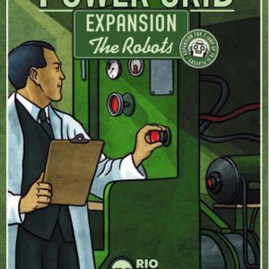 Buy Power Grid: The Robots only at Bored Game Company.