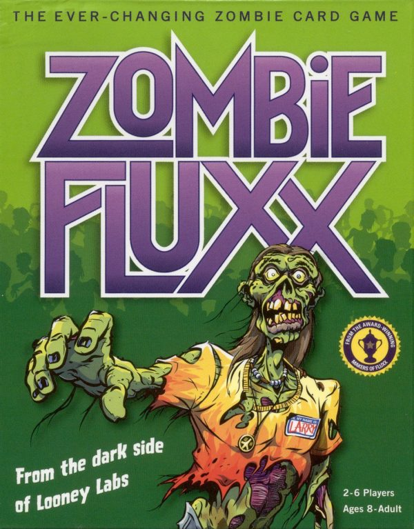 Buy Zombie Fluxx only at Bored Game Company.