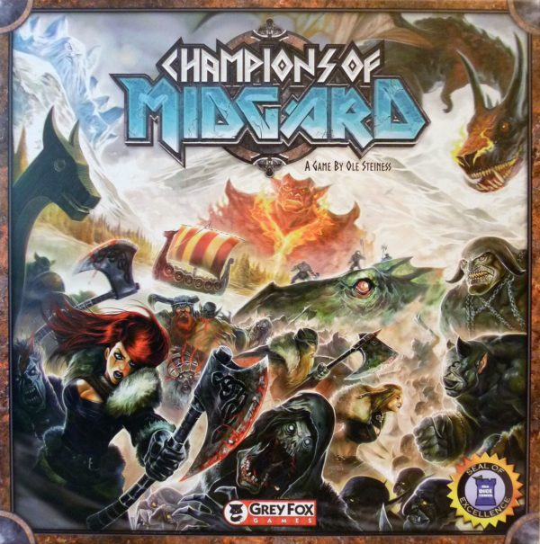 Buy Champions of Midgard only at Bored Game Company.