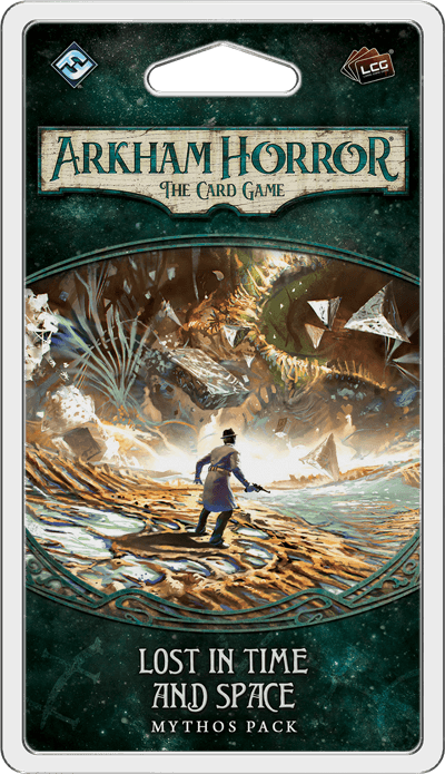 Buy Arkham Horror: The Card Game – Lost in Time and Space: Mythos Pack only at Bored Game Company.