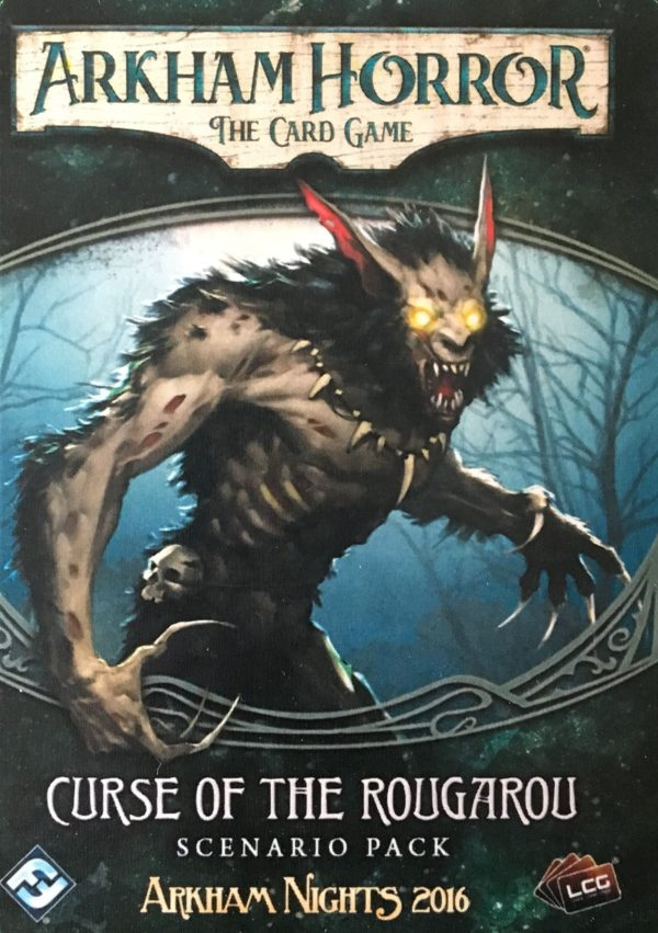Buy Arkham Horror: The Card Game – Curse of the Rougarou: Scenario Pack only at Bored Game Company.