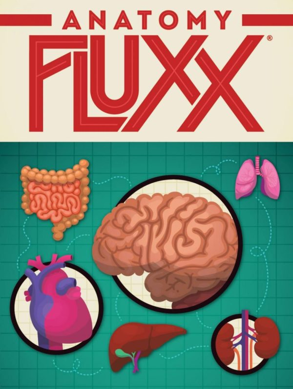 Buy Anatomy Fluxx only at Bored Game Company.
