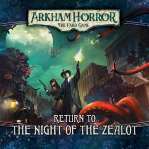Buy Arkham Horror: The Card Game – Return to the Night of the Zealot only at Bored Game Company.