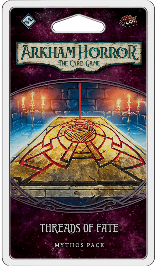 Buy Arkham Horror: The Card Game – Threads of Fate: Mythos Pack only at Bored Game Company.