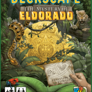 Buy Deckscape: The Mystery of Eldorado only at Bored Game Company.