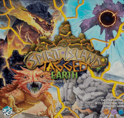 Buy Spirit Island: Jagged Earth only at Bored Game Company.