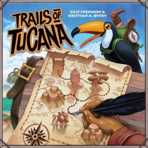 Buy Trails of Tucana only at Bored Game Company.