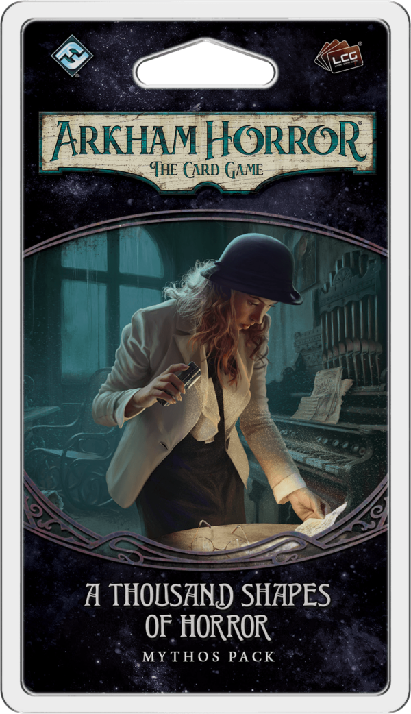 Buy Arkham Horror: The Card Game – A Thousand Shapes of Horror: Mythos Pack only at Bored Game Company.