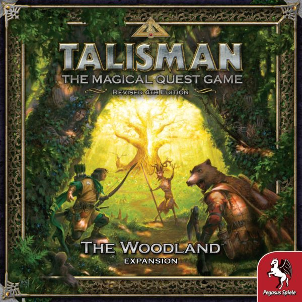 Buy Talisman (Revised 4th Edition): The Woodland Expansion only at Bored Game Company.