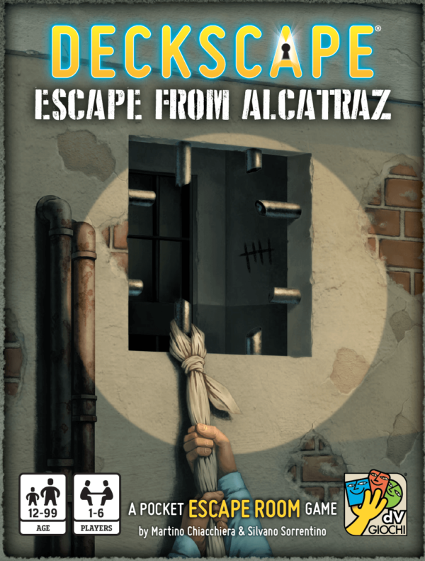 Buy Deckscape: Escape from Alcatraz only at Bored Game Company.