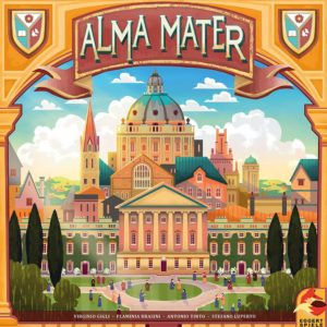 Buy Alma Mater only at Bored Game Company.