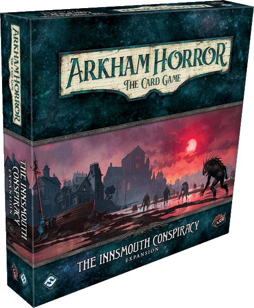 Buy Arkham Horror: The Card Game – The Innsmouth Conspiracy: Expansion only at Bored Game Company.
