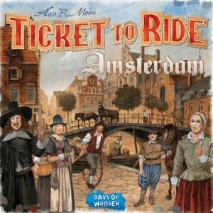 Buy Ticket to Ride: Amsterdam only at Bored Game Company.