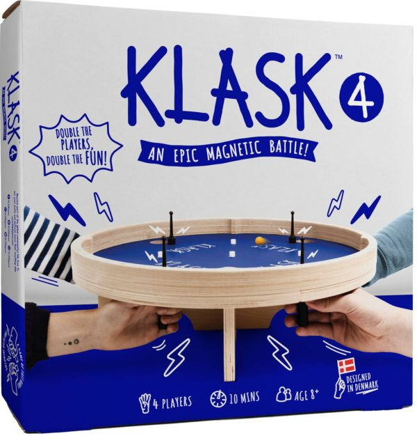 Buy KLASK 4 only at Bored Game Company.