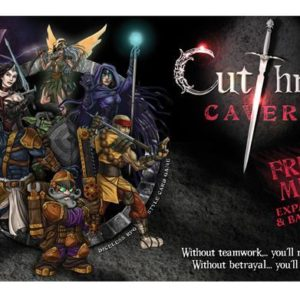 Buy Cutthroat Caverns: Fresh Meat only at Bored Game Company.
