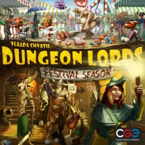 Buy Dungeon Lords: Festival Season only at Bored Game Company.