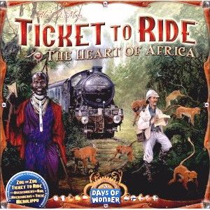 Buy Ticket to Ride Map Collection: Volume 3 – The Heart of Africa only at Bored Game Company.