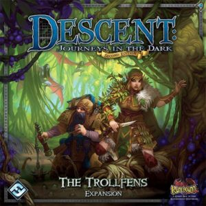 Buy Descent: Journeys in the Dark (Second Edition) – The Trollfens only at Bored Game Company.