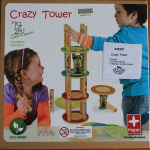 Buy Crazy Tower only at Bored Game Company.