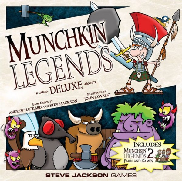 Buy Munchkin Legends Deluxe only at Bored Game Company.