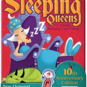 Buy Sleeping Queens only at Bored Game Company.