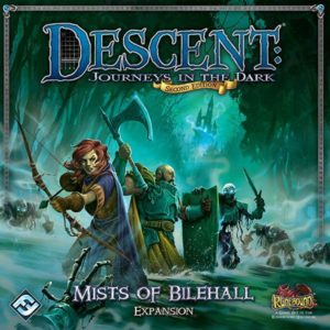 Buy Descent: Journeys in the Dark (Second Edition) – Mists of Bilehall only at Bored Game Company.