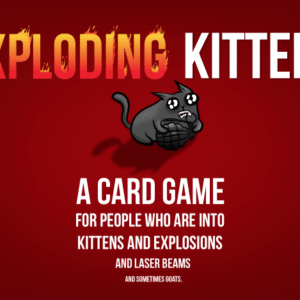 Buy Exploding Kittens only at Bored Game Company.