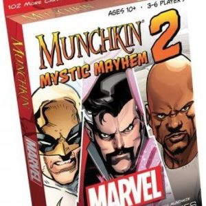 Buy Munchkin Marvel 2: Mystic Mayhem only at Bored Game Company.