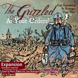 Buy The Grizzled: At Your Orders! only at Bored Game Company.