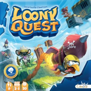 Buy Loony Quest only at Bored Game Company.