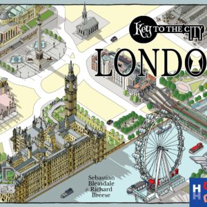 Buy Key to the City: London only at Bored Game Company.
