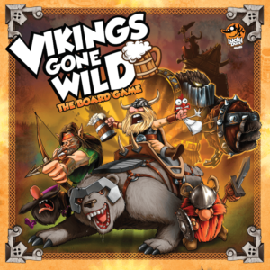 Buy Vikings Gone Wild only at Bored Game Company.