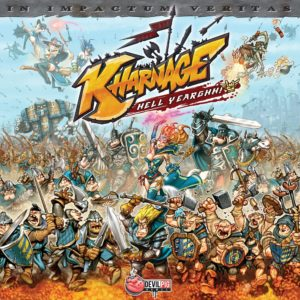 Buy Kharnage only at Bored Game Company.