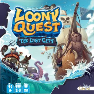 Buy Loony Quest: The Lost City only at Bored Game Company.
