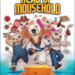 Buy Head of Mousehold only at Bored Game Company.