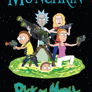 Buy Munchkin Rick and Morty only at Bored Game Company.