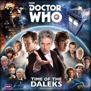 Buy Doctor Who: Time of the Daleks only at Bored Game Company.