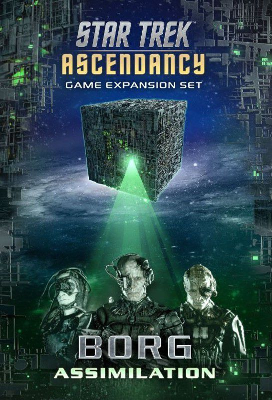 Buy Star Trek: Ascendancy – Borg Assimilation only at Bored Game Company.