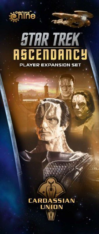 Buy Star Trek: Ascendancy – Cardassian Union only at Bored Game Company.
