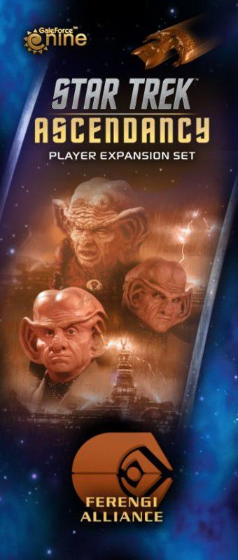 Buy Star Trek: Ascendancy – Ferengi Alliance only at Bored Game Company.
