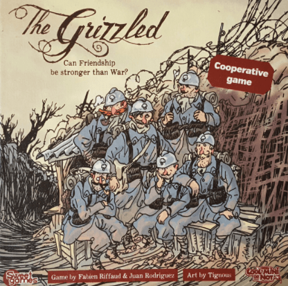Buy The Grizzled only at Bored Game Company.