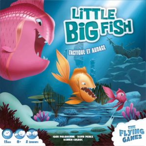 Buy Little Big Fish only at Bored Game Company.