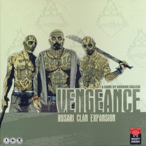 Buy Vengeance: Rosari Clan Expansion only at Bored Game Company.